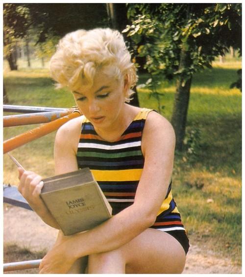 Marilyn Monroe y James Joyce