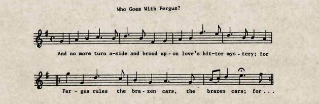 Fragmento de Who goes with Fergus now